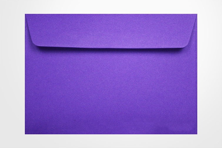 C6 114 x 162mm colorplan purple 135gsm envelopes